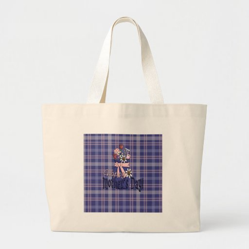 Mothers Day Floral Tote Bag