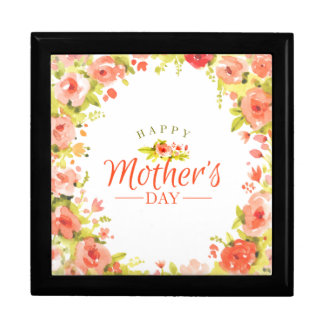 Mother's day flowers gift box