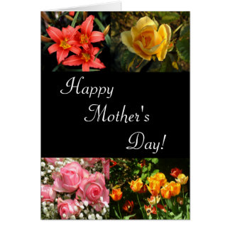 Mother's Day Flowers | Vertical Card