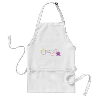mothers day for grandma adult apron