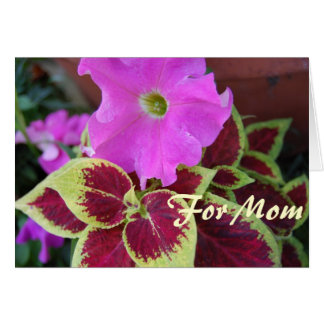 Mother's Day For mom Card
