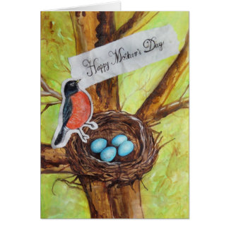 Mother's Day (From Robin) Card