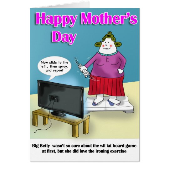 mothers day funny card