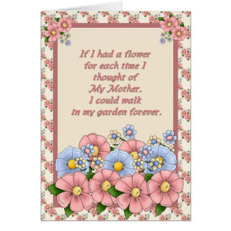 Mother's Day-Garden Card