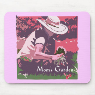 Mother's Day Garden Mouse Pad