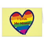 Mother's Day Gay Pride Greeting Cards