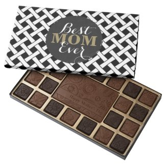 Mother's Day Gift Alert! Best Mom Ever 45 Piece Box Of Chocolates
