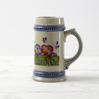 MOTHER'S DAY GIFT BEAUTIFUL 18 OZ BEER STEIN