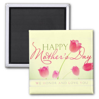 MOTHER'S DAY GIFT BEAUTIFUL 2 INCH SQUARE MAGNET