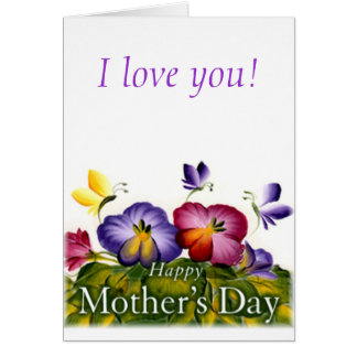 MOTHER'S DAY GIFT BEAUTIFUL CARD