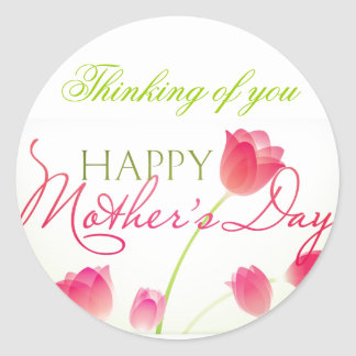 MOTHER'S DAY GIFT BEAUTIFUL CLASSIC ROUND STICKER