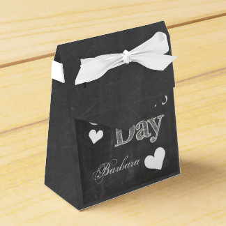 Mother's Day gift box- Blackboard Style Party Favor Box