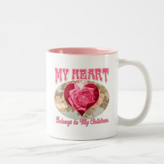 Mother's Day gift ideas for World's Greatest Mom Two-Tone Coffee Mug