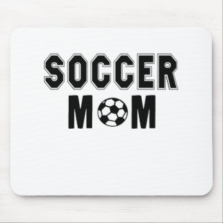 Mothers day gift ideas Soccer MOM logo Mouse Pad