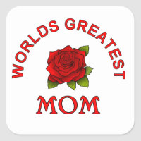 Mothers Day Gift Ideas Square Sticker