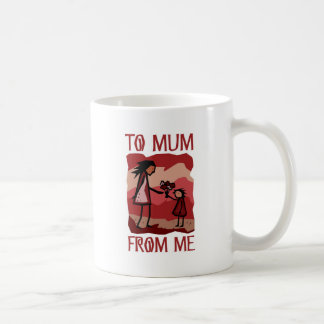 Mother's Day gift: Love and flowers for Mummy Mugs