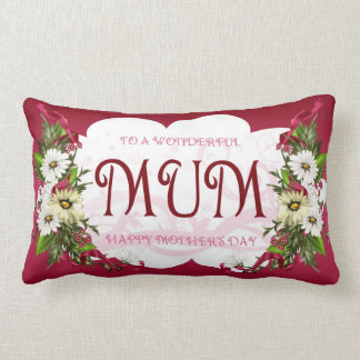 Mother's Day Gift Pillow For Mum On Mothering Sund
