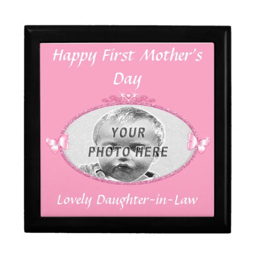 Mothers day gifts for daughter in law keepsake box zazzle for Mother s day gift for mother in law