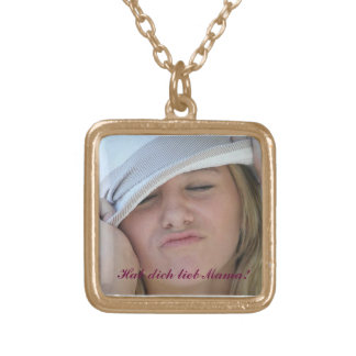 Mother's Day Gold Plated Necklace