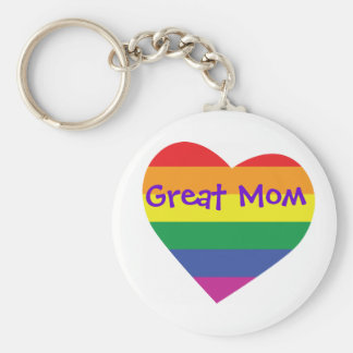 Mother's Day Great Mom Keychain