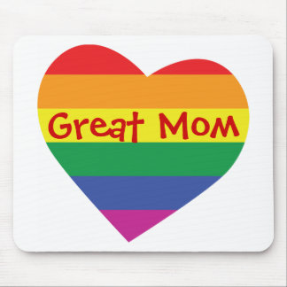 Mother's Day Great Mom Mouse Pad