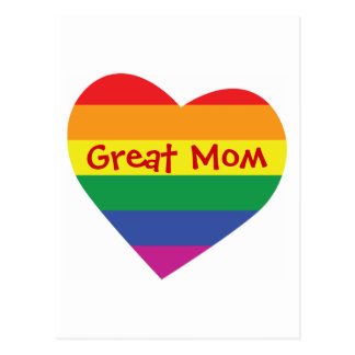 Mother's Day Great Mom Postcard