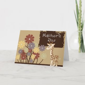 Mother's Day Greeting Card card