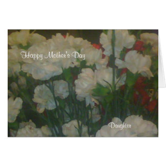 Mother's day greeting card-Daughter