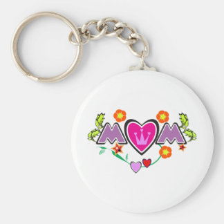 Mother's day greeting card: MOM Keychain