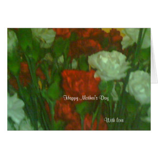 Mother's day greeting cards-with love greeting card