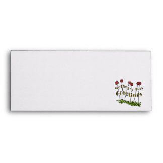 Mothers Day Greetings Envelope