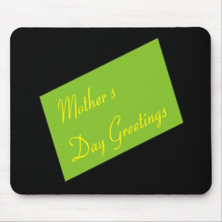 Mothers Day Greetings Mouse Pad