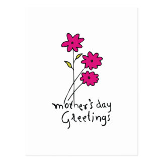 Mother's Day Greetings Postcard