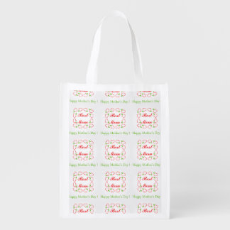 Mothers day grocery bag