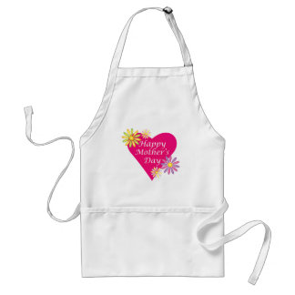 Mother's Day Heart Adult Apron