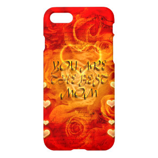 Mother's day, hearts and roses iPhone 7 case