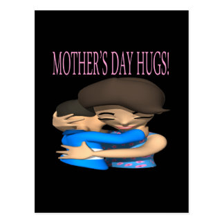 Mothers Day Hugs Post Card