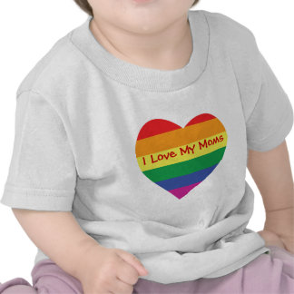 Mother's Day I love my Moms Tee Shirt