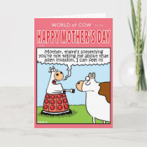 Mother's Day Invasion. Card