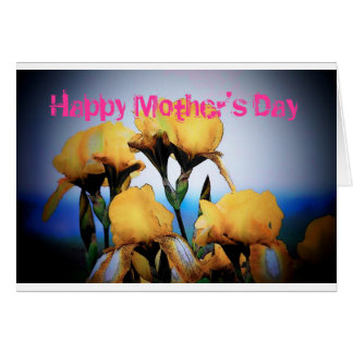 Mother's Day Irises Card