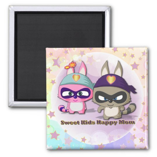 Mother's Day Kawaii Gift Cute Cartoon Funny Magnet