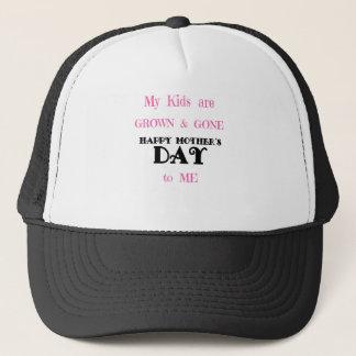MOTHER'S DAY KIDS GONE T-SHIRT TEE TRUCKER HAT