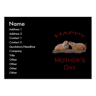 Mother's Day Kiss Large Business Cards (Pack Of 100)
