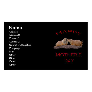 Mother's Day Kiss Double-Sided Standard Business Cards (Pack Of 100)