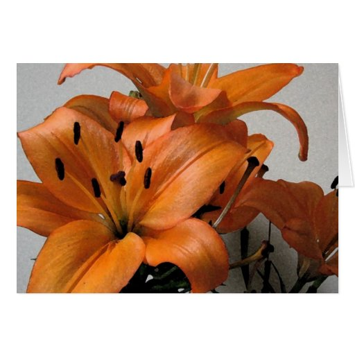 Mother's Day Lily Cards