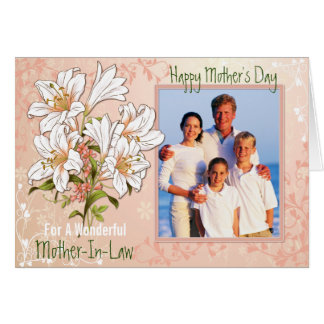 Mother's Day Lily Garden Mother-In-Law Card