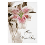 Mother's Day Lily Greeting Cards