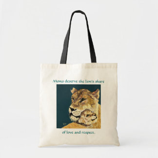 Mother's Day Lioness and Cub bag