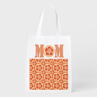 Mother's Day Love Cute Henna Floral Market Tote