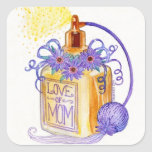 Mother's Day Love of Mom Perfume Bottle Stickers
